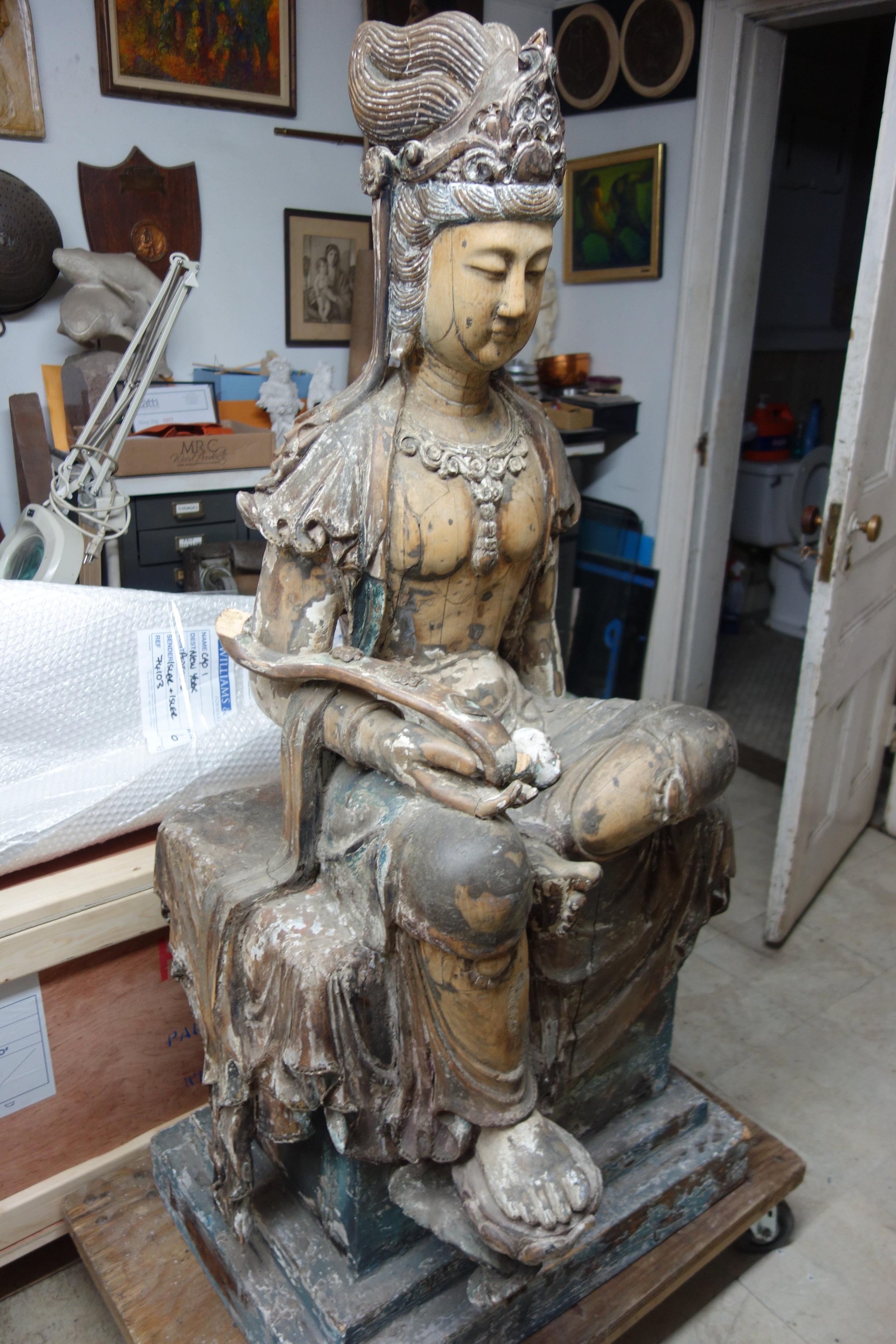 Wood Buddha