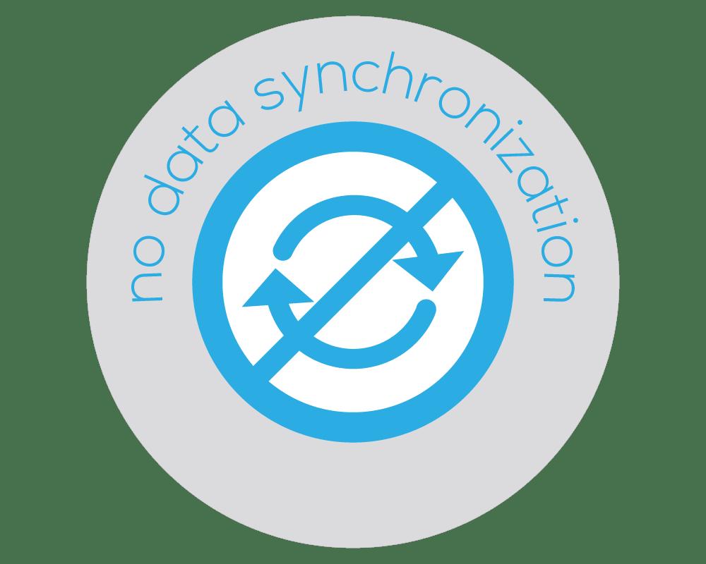 No Data Synchronization