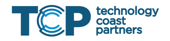 Logo for TCP, Technology Coast Partners in Miami, FL - Exclusive Latin America partner with Bezlio