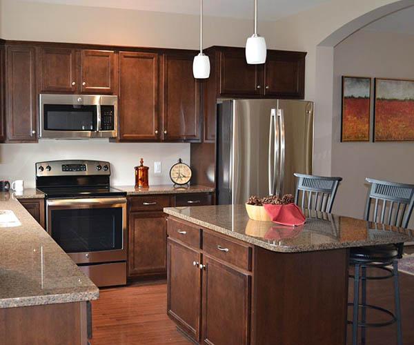 back style kitchen