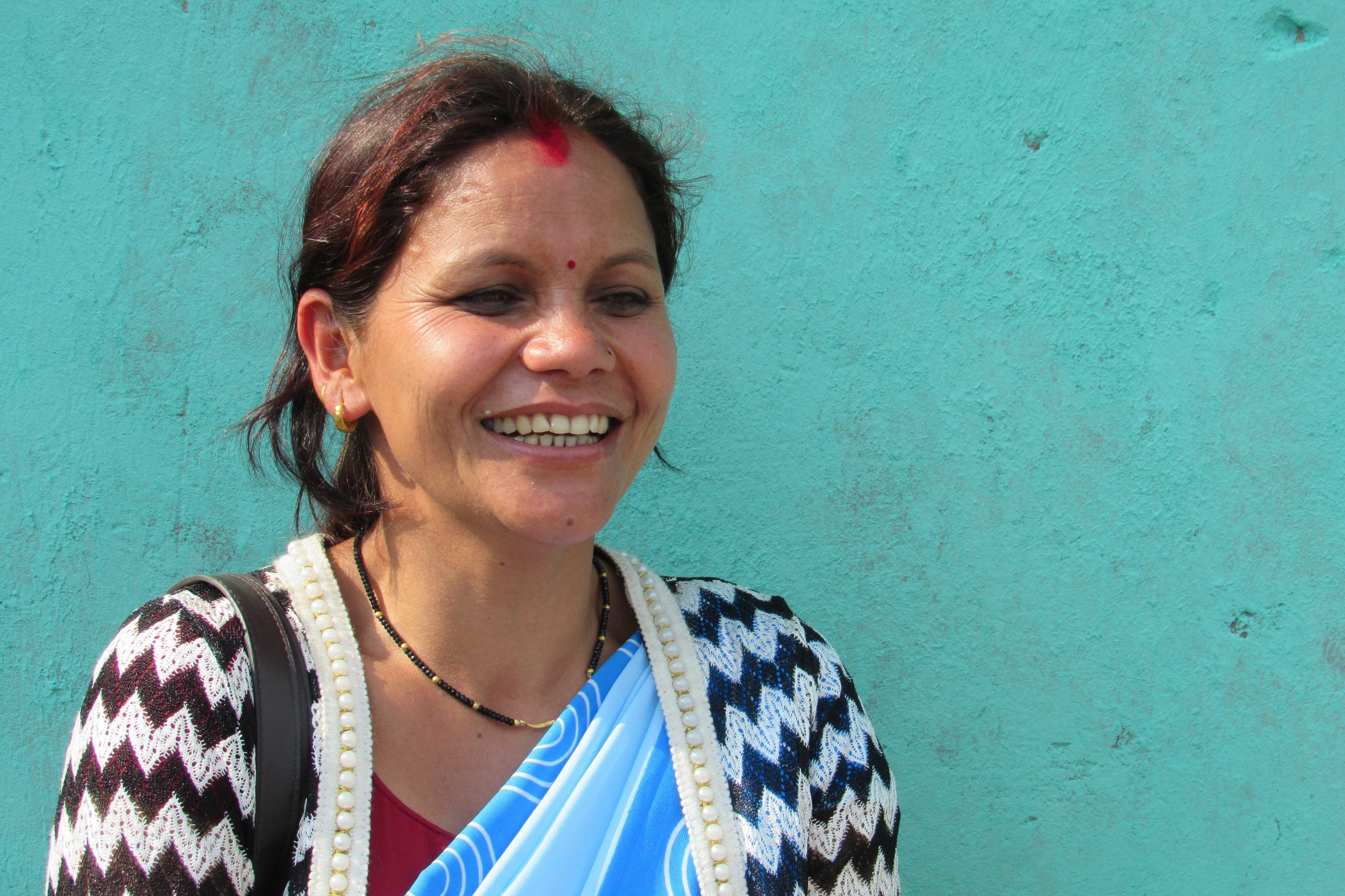 "- ""I have very positive thoughts about these games. It has made it a lot easier for us health workers to bring forward these messages…. I've learned things that I hadn't learnt in my 10 years as a Female Community Health Volunteer, and that makes me very happy.""RADHA THAPA, FEMALE COMMUNITY HEALTH VOLUNTEER"