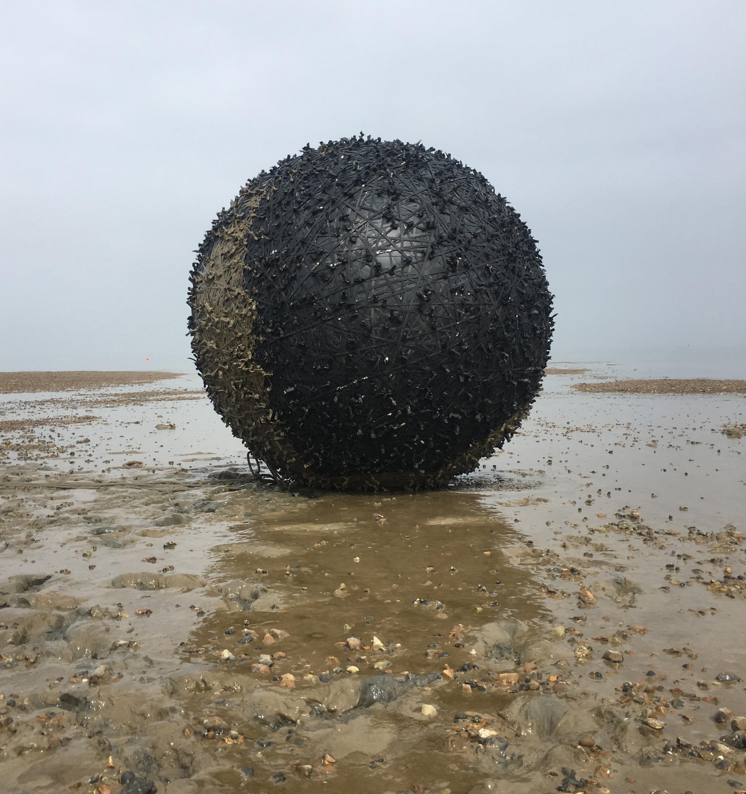 Global -  The Black Stuff,  Whitstable Biennale ,  2018