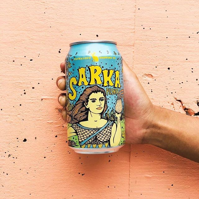 Those two drink tickets you get with a #pfsummer19 preview ticket? They're not just for any drinks. They're for *Jackalope* drinks. @jackalopebrew drinks with the coolest, coolest cans designed by @loyalpinco 🍻 Click the link in our profile to get your preview tickets before they sell out.