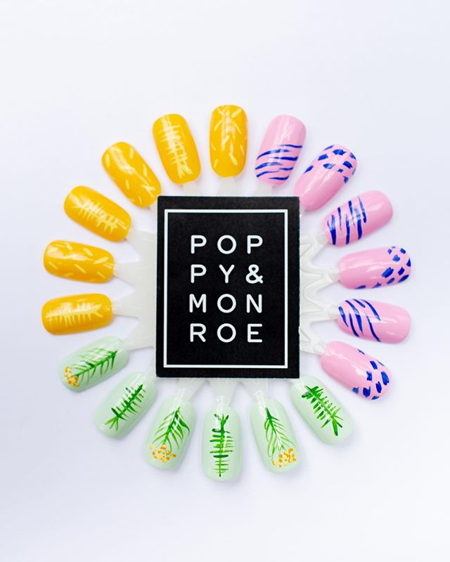 Did we mention that @poppyandmonroe will be doing complimentary #pfsummer19 themed polish changes at the preview market?!