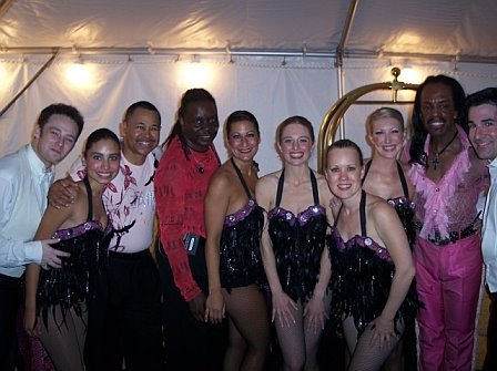 Opening for Earth, Wind and Fire