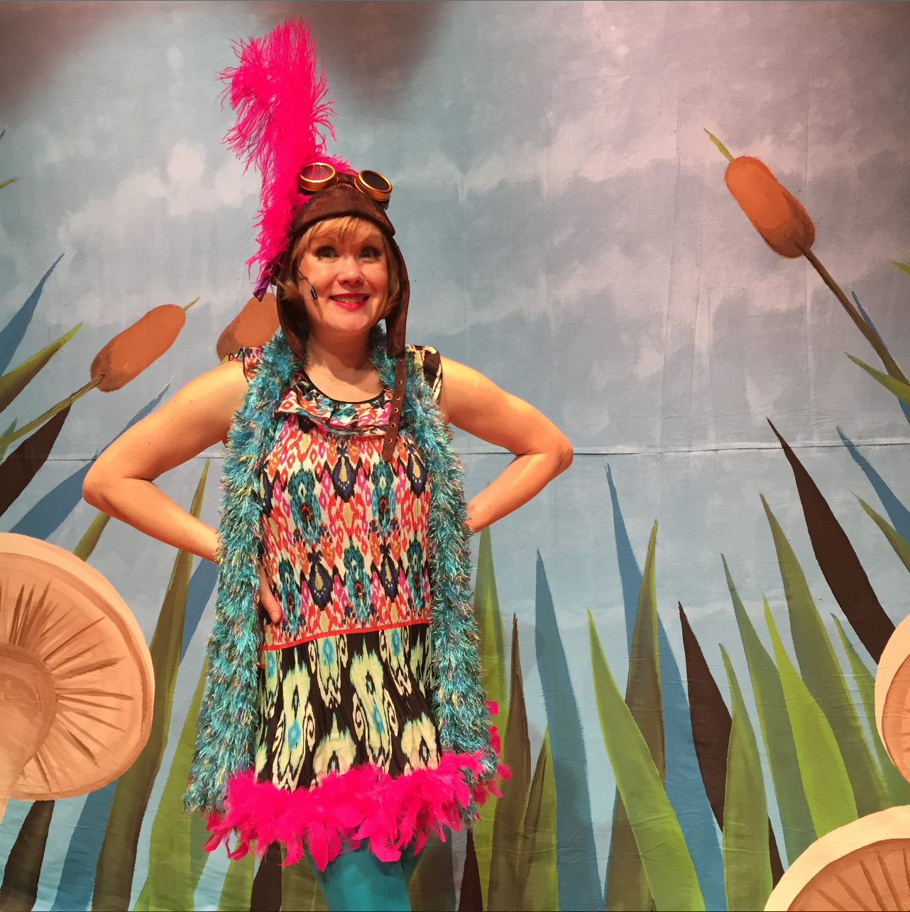 Lena as Bird in Frog and Toad