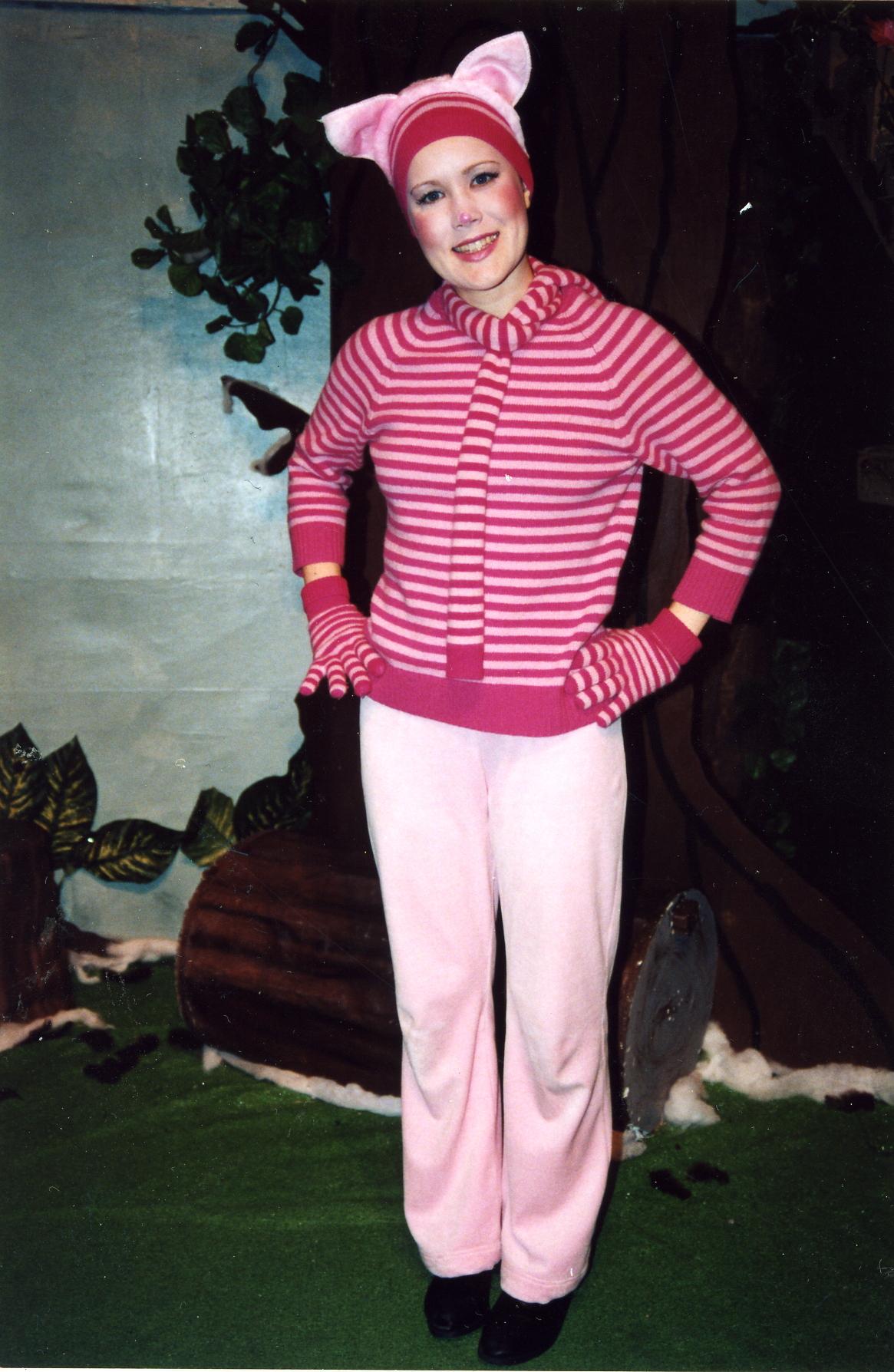 Lena as Piglet