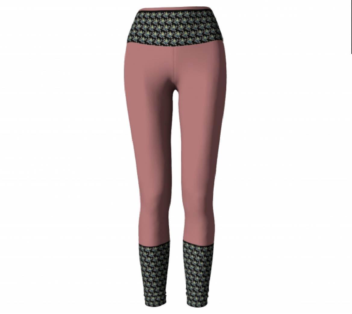 Mauve Leggings         $45
