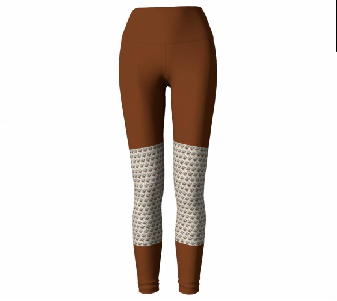 Rust Leggings #2         $45