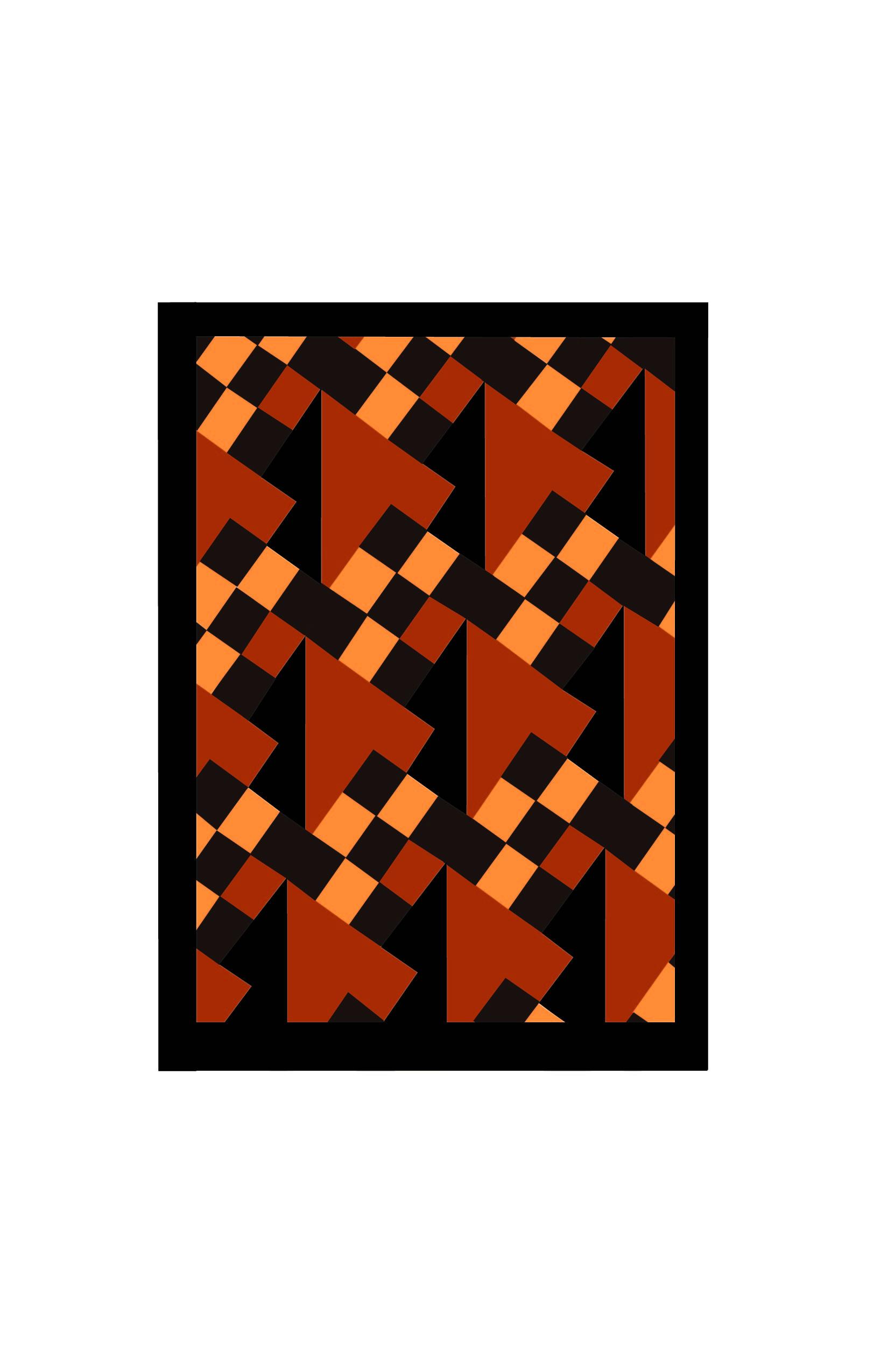 Orange Checkers