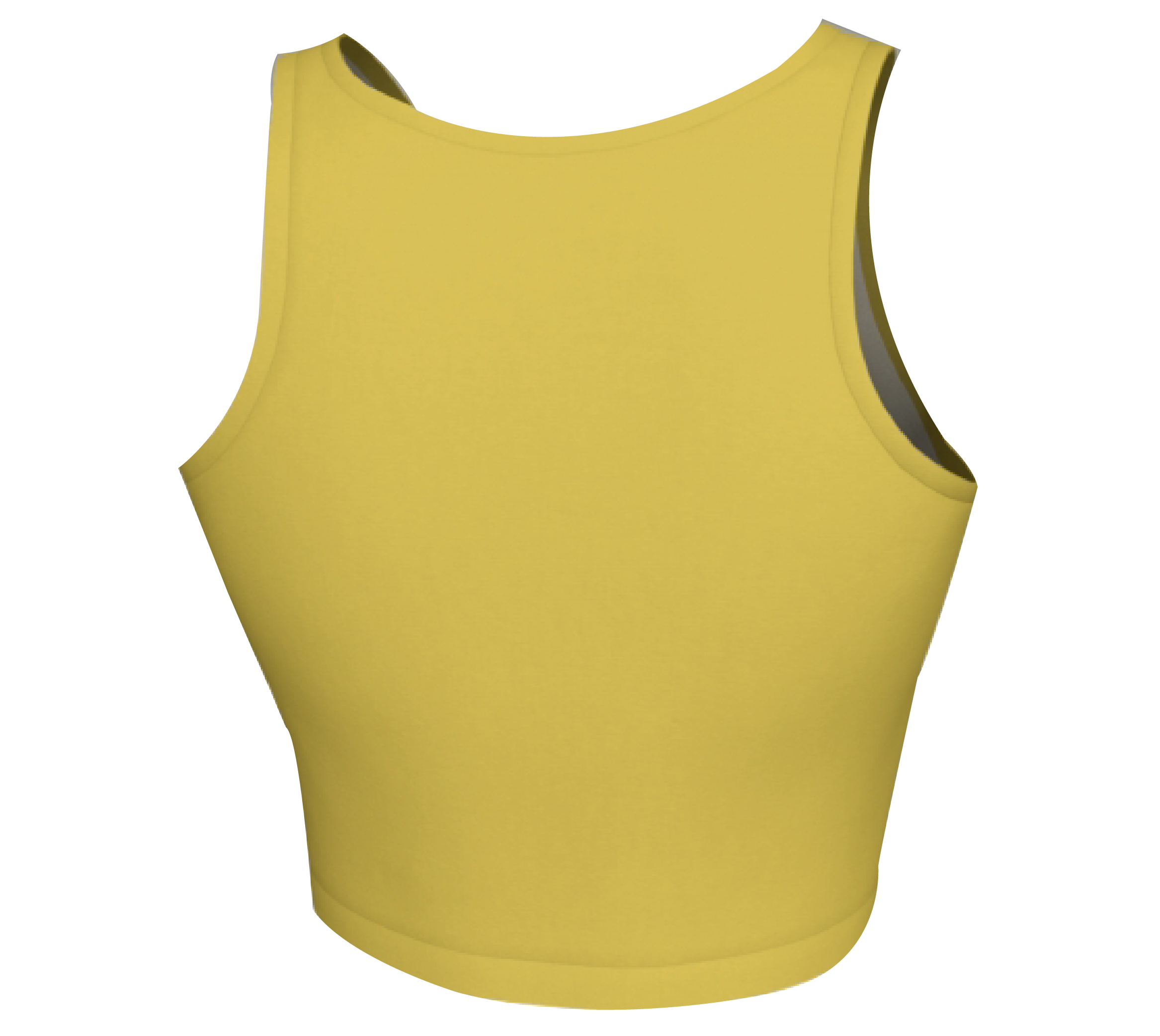 1 Yellow Crop Top Back.png