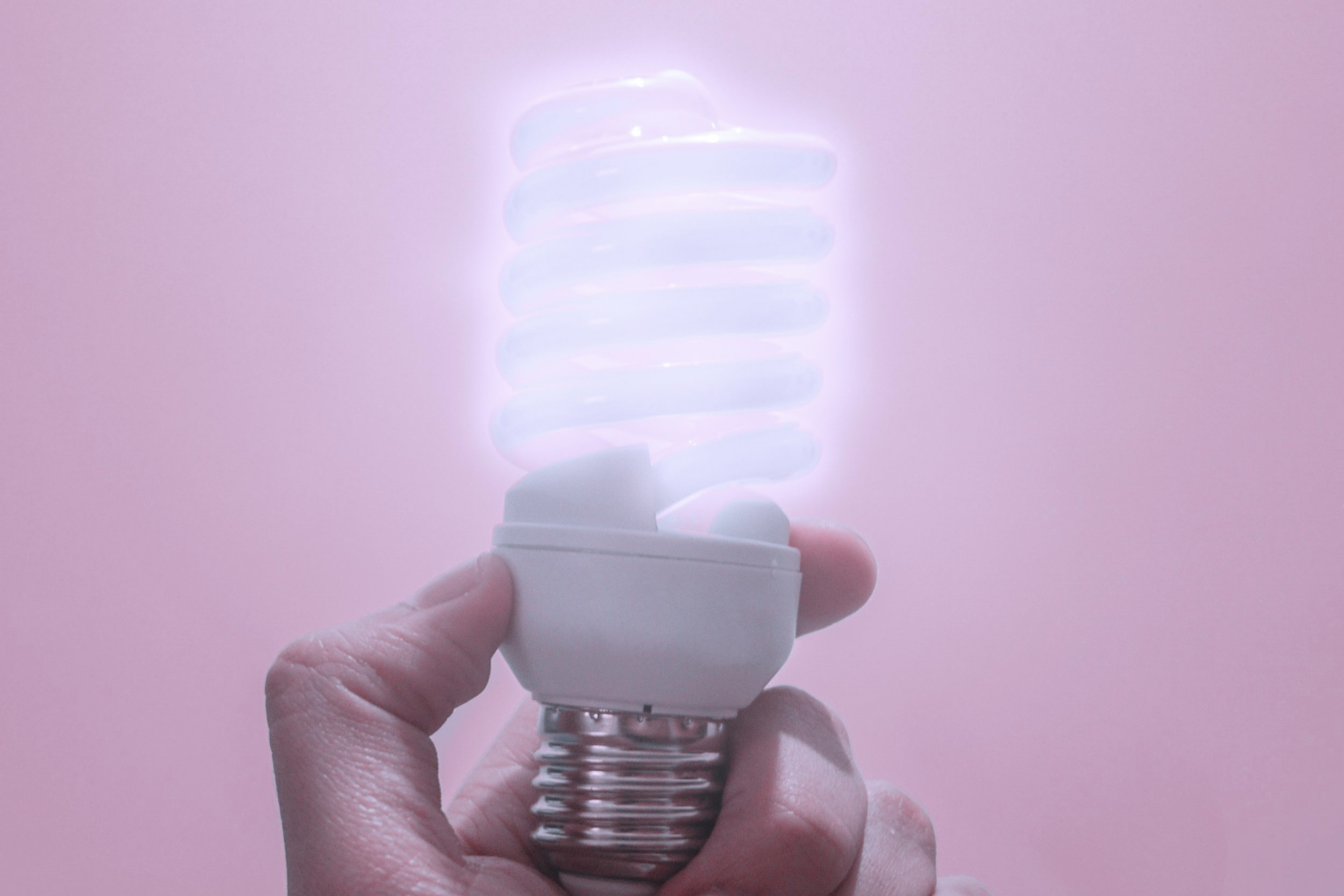 Eco-friendly lightbulbs help us conserve energy in our offices -