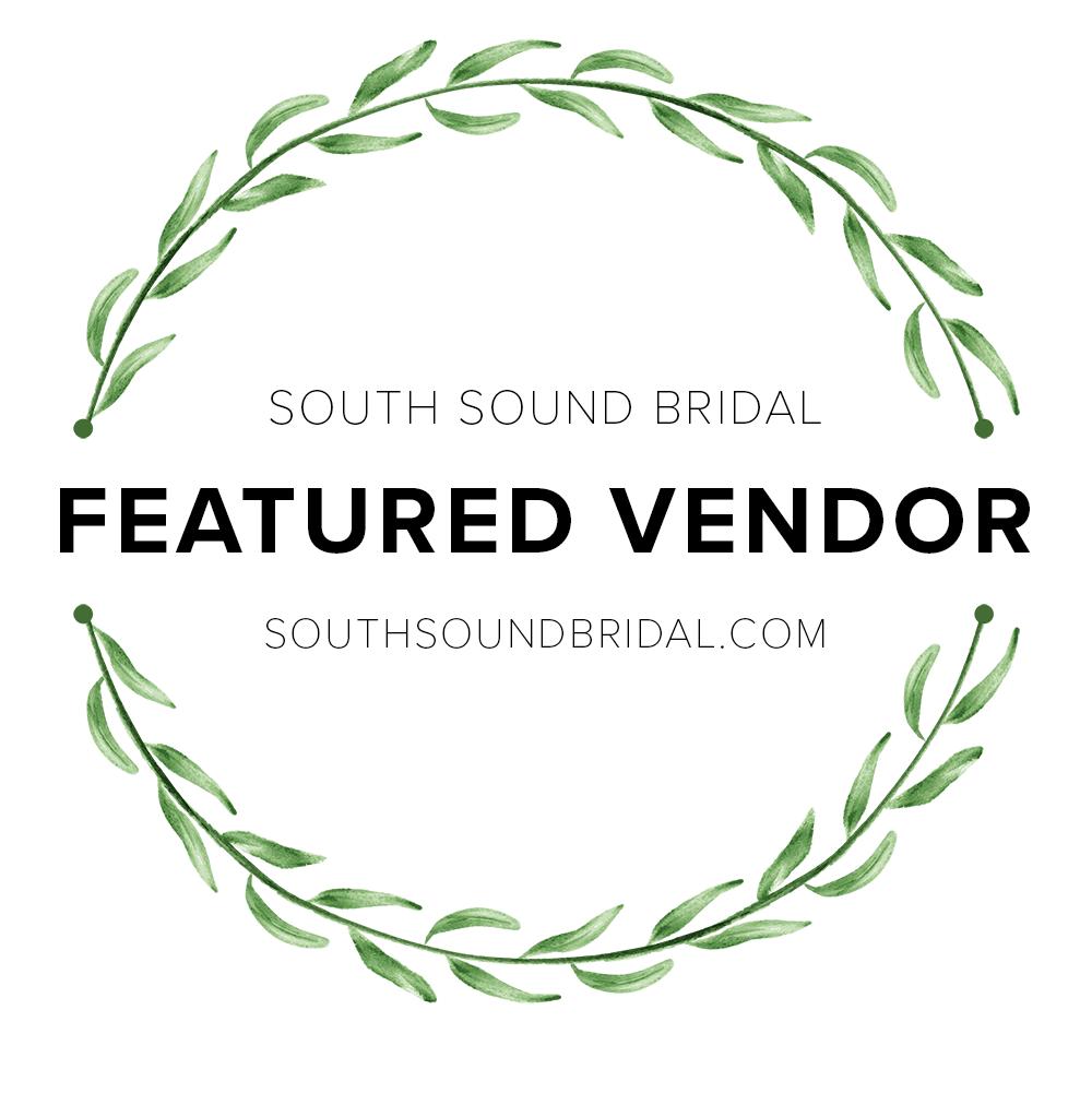 South Sound Bridal Featured Vendor