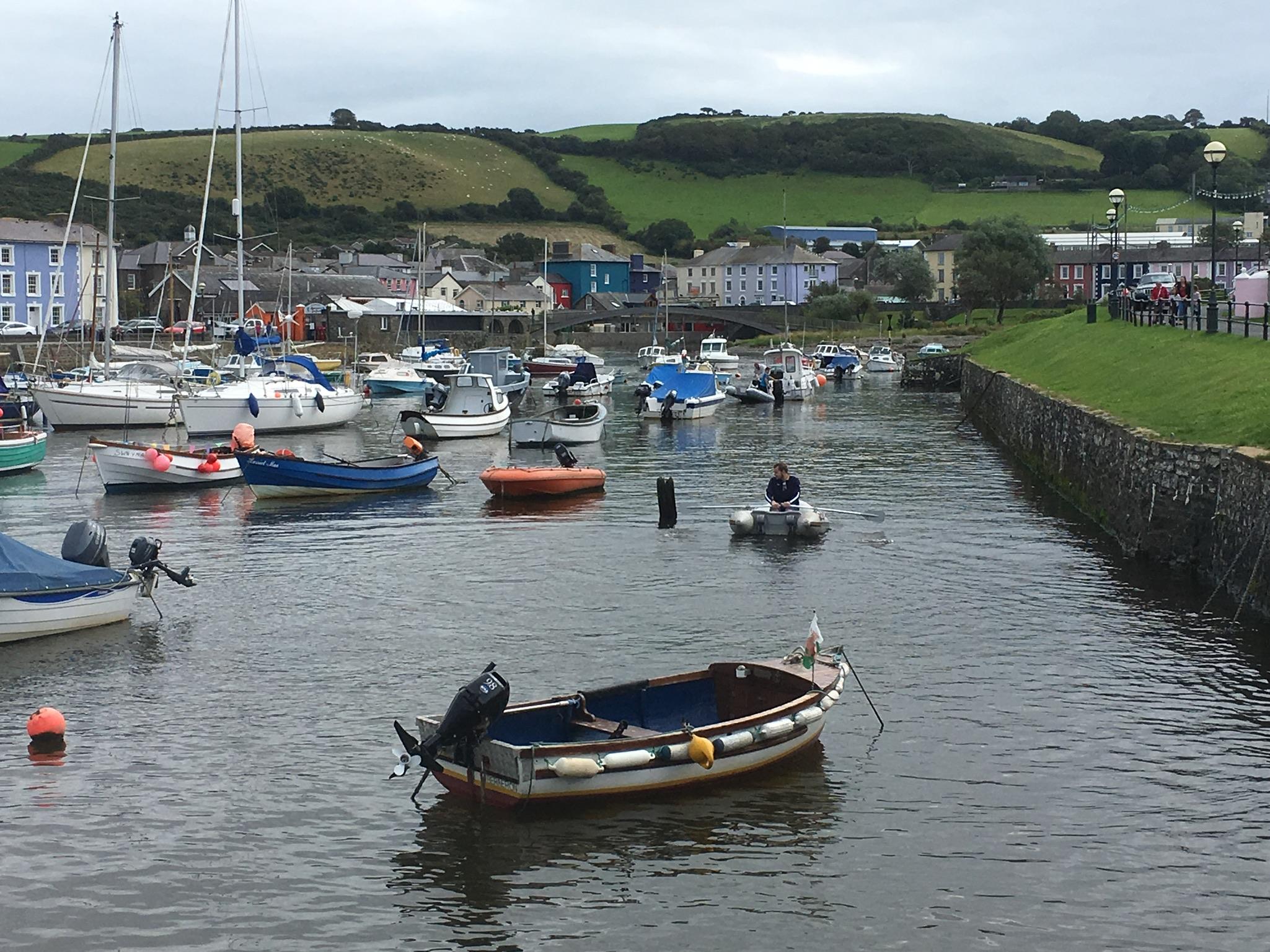 Aberaeron harbour, Wales