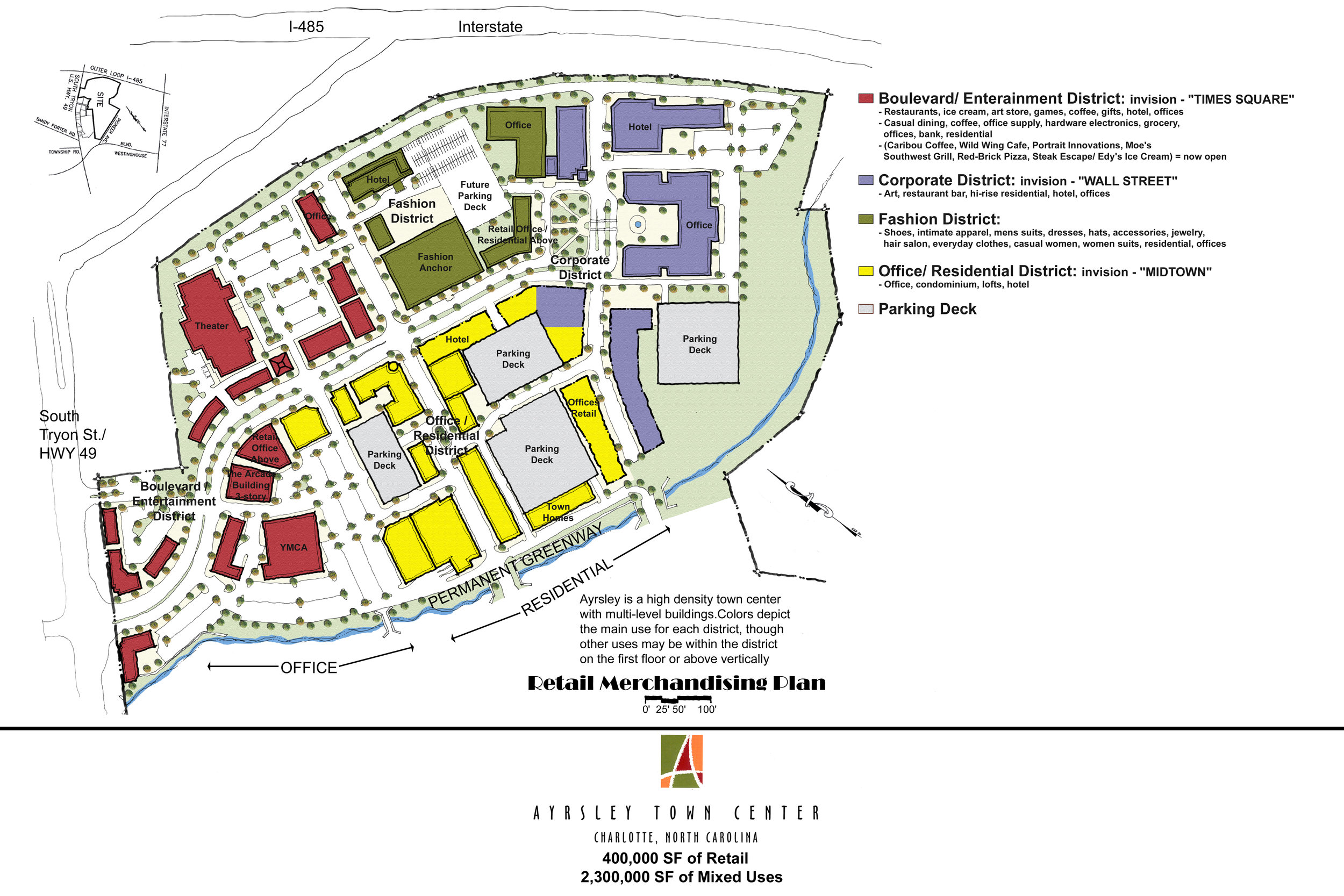 Office Mixed Use - Ayrsley Town Center – Charlotte, NC — adw
