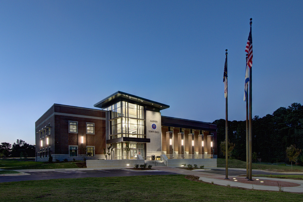 ADW-Civic-Town-Hall-Garner-NC-Exterior-Night.JPG
