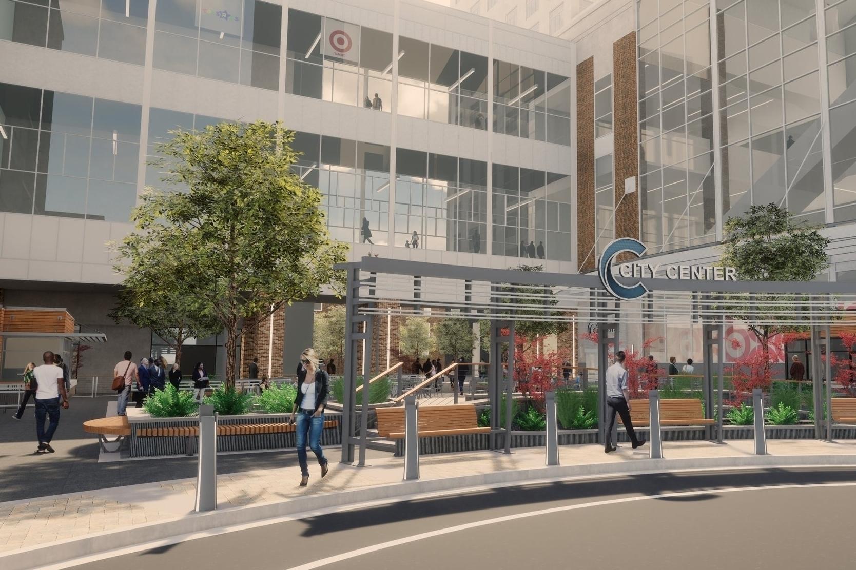 Center City Plaza Renovation and Design