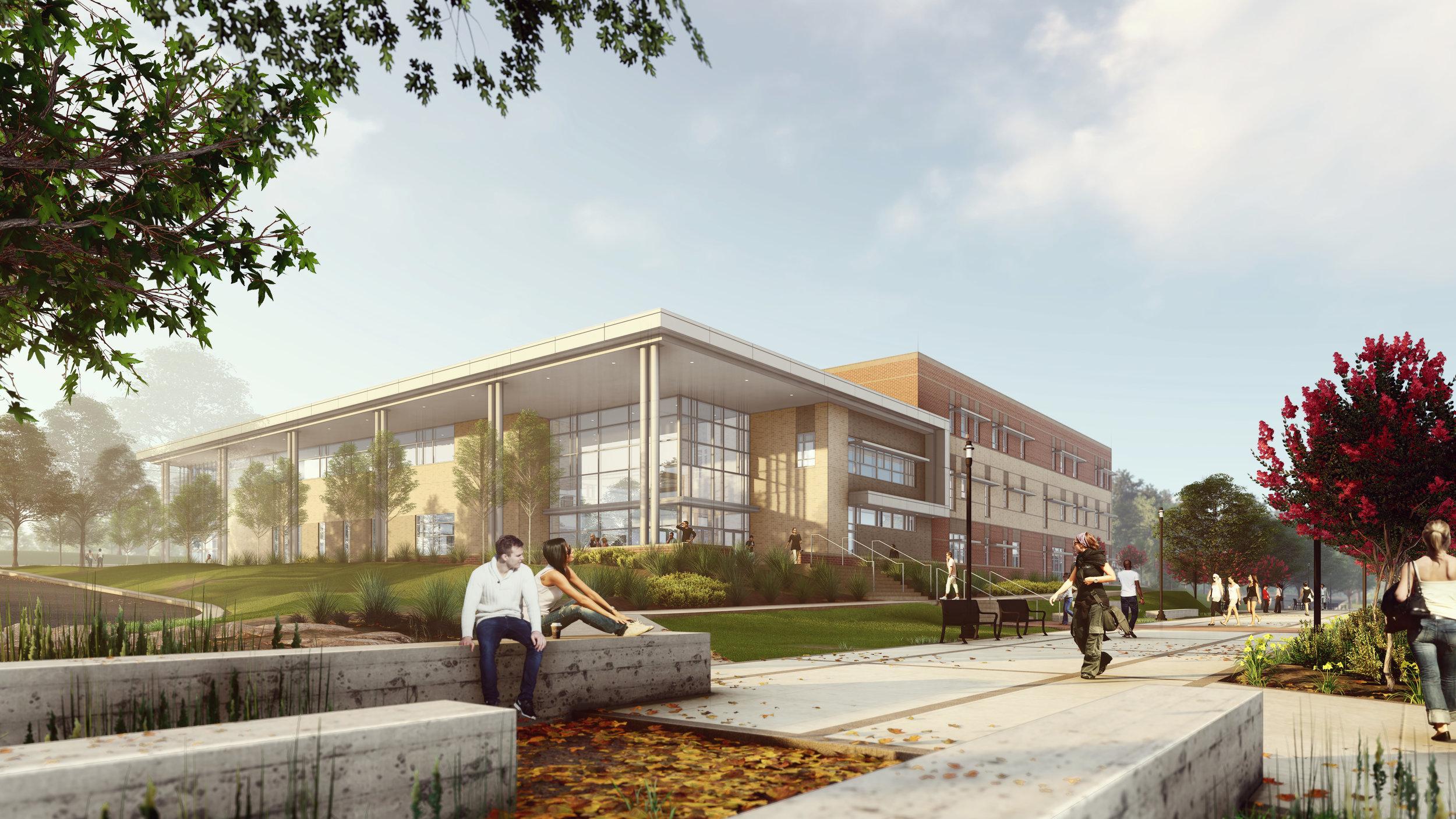 cpcc merancas phase iv classroom building