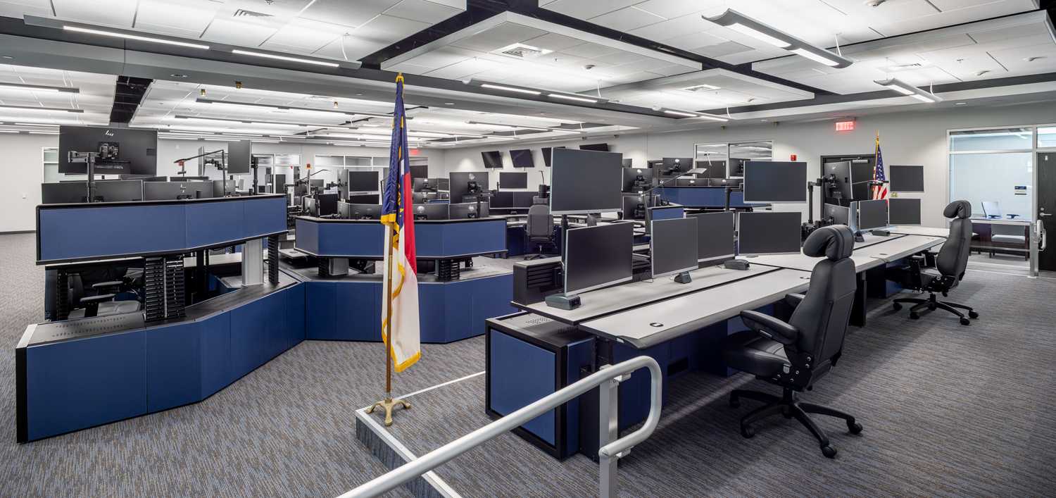Iredell County PSC_interior console.jpg