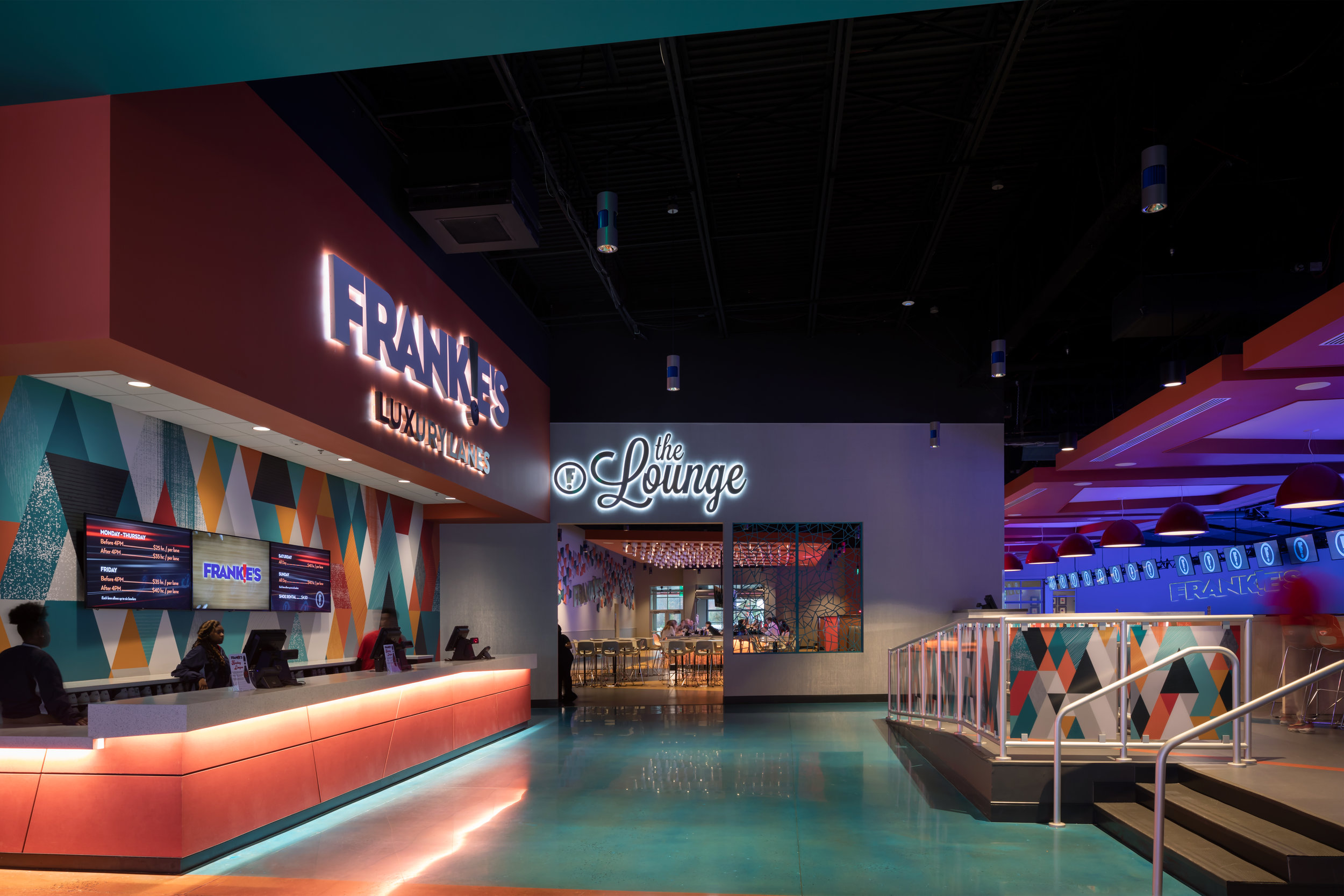 ADW-Entertainment-Frankie's-Fun-Park-Huntersville-NC-Interior-Bowling & Lounge Entrance.jpg