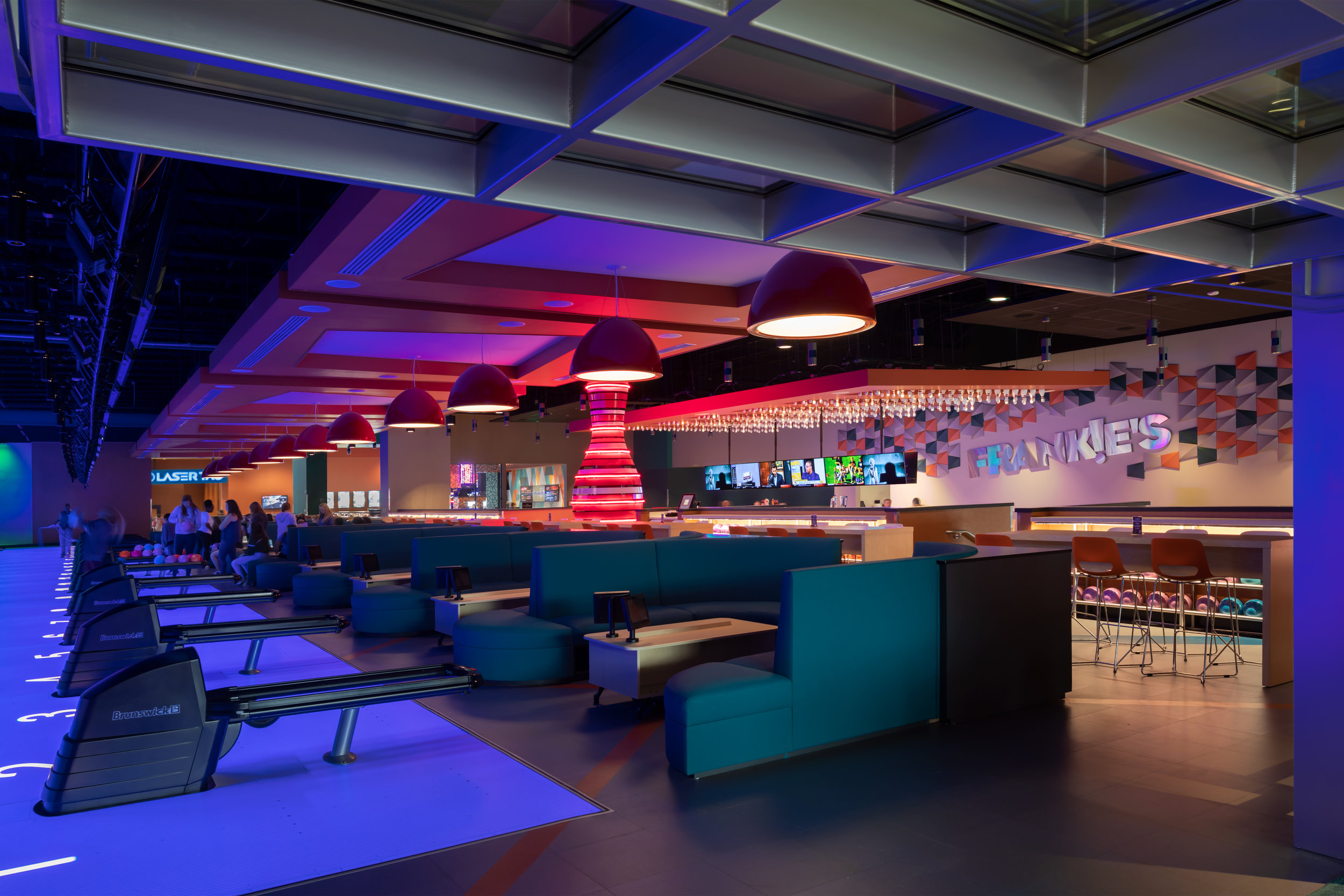 ADW-Entertainment-Frankie's-Fun-Park-Huntersville-NC-Interior-Bowling Seating.jpg