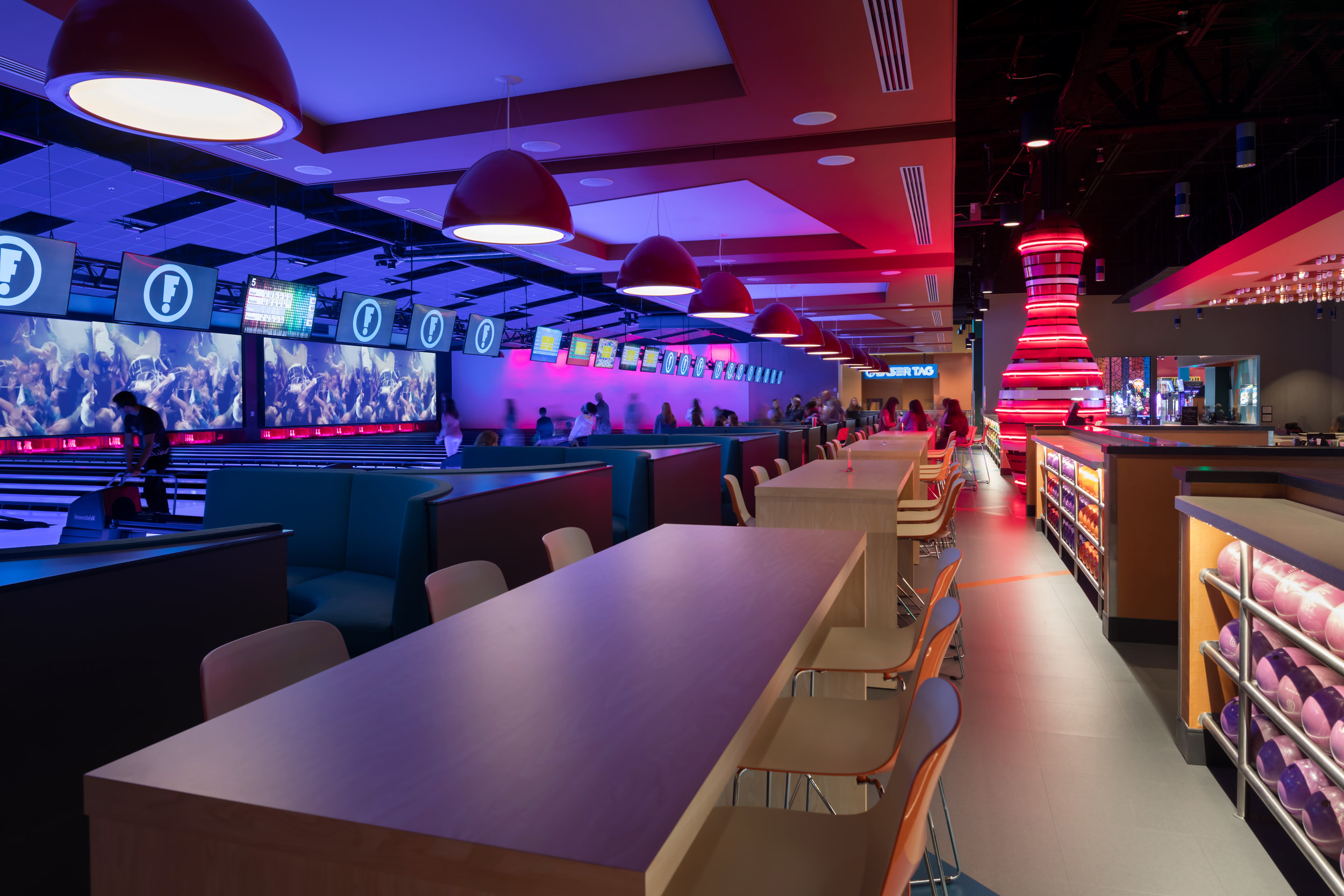 ADW-Entertainment-Frankie's-Fun-Park-Huntersville-NC-Interior-Bowling Table Seating 01.jpg