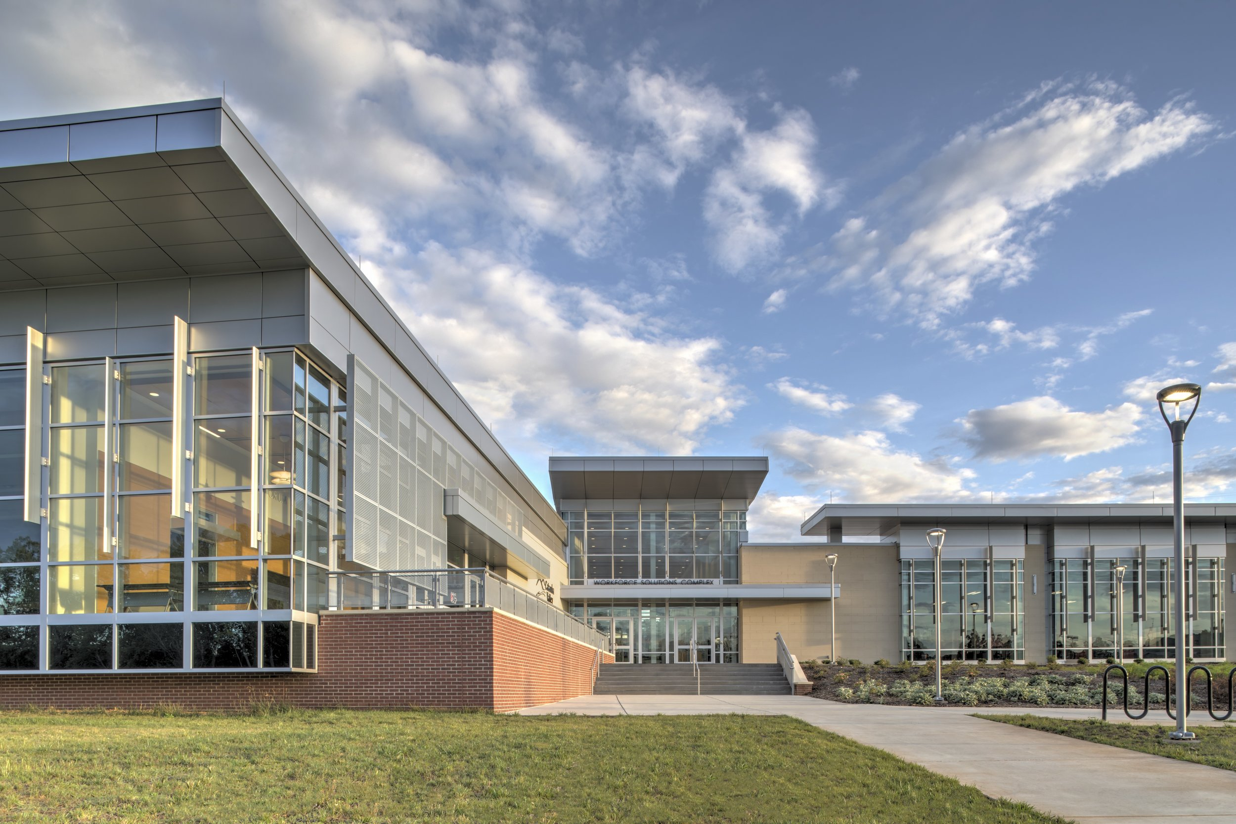 ADW-Higher-Education-CVCC-Hickory-NC-Workforce-Solutions-Exterior-Front Cropped.jpg
