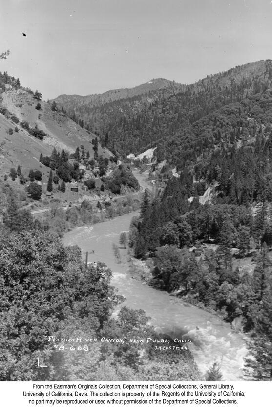 1938, Pulga, Feather River Canyon.jpg