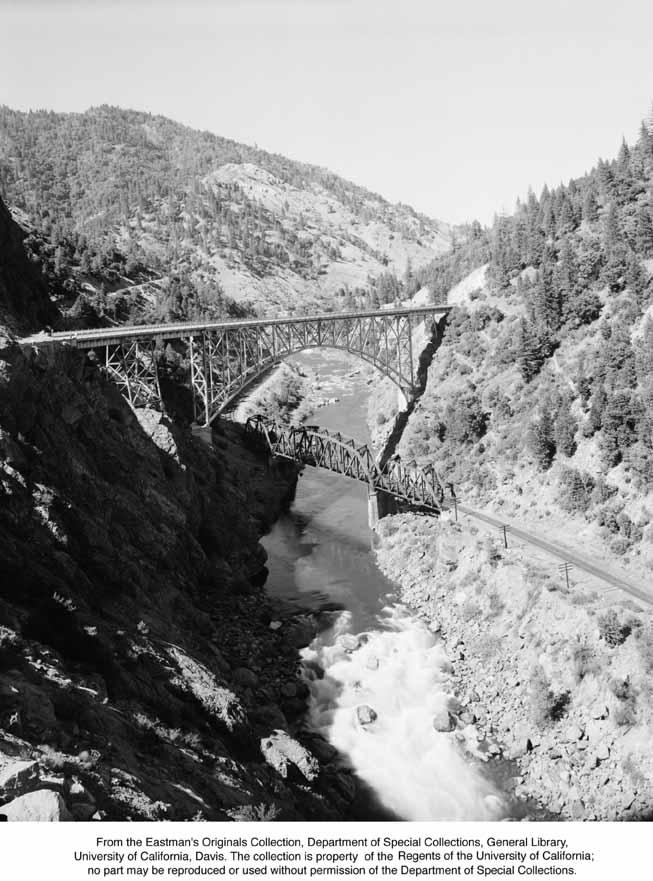 1946, Pulga Bridge, Feather River Canyon.jpg