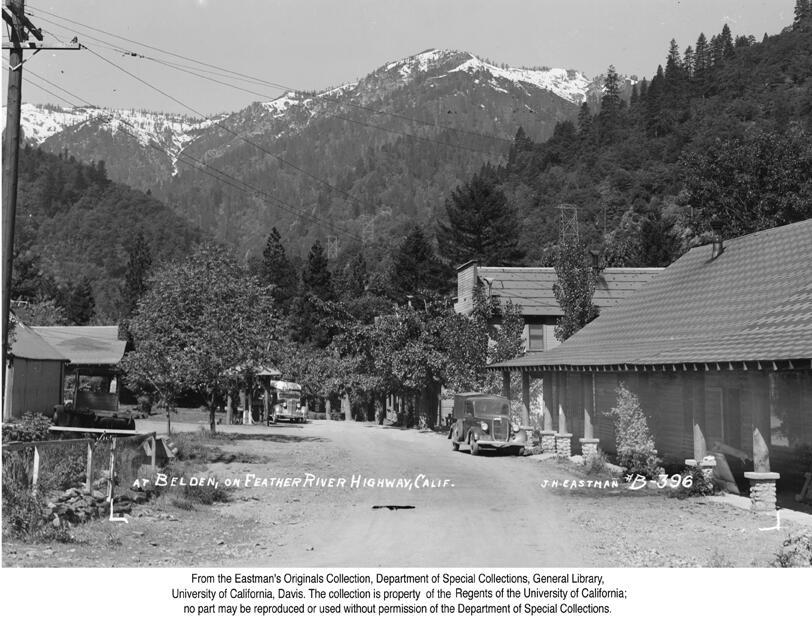 1937, Beldon Town, Feather River Canyon.jpg