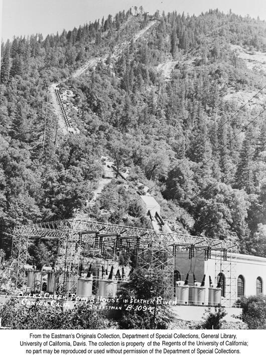 1939, Bucks Creek Poser House, Feather River Canyon.jpg