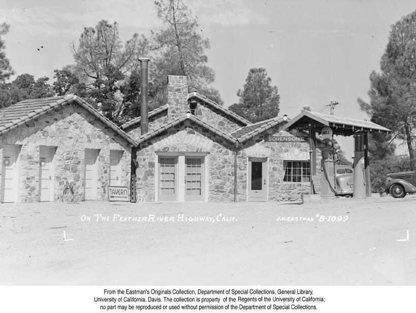 1939, Rock House (Sorensong's Shell) at Jarbo Gap..jpg