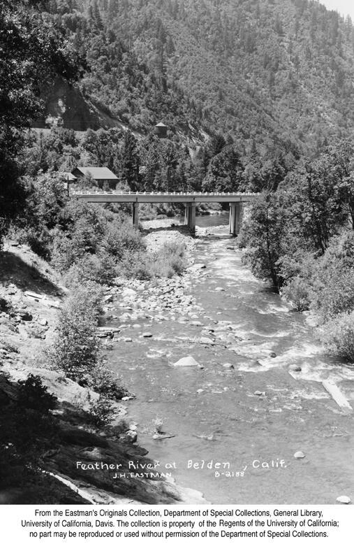 1944 Beldon, Feather River Canyon 1944.jpg