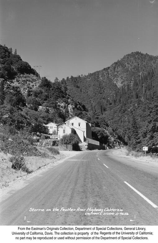 1946, Storrie on the Feather River.jpg
