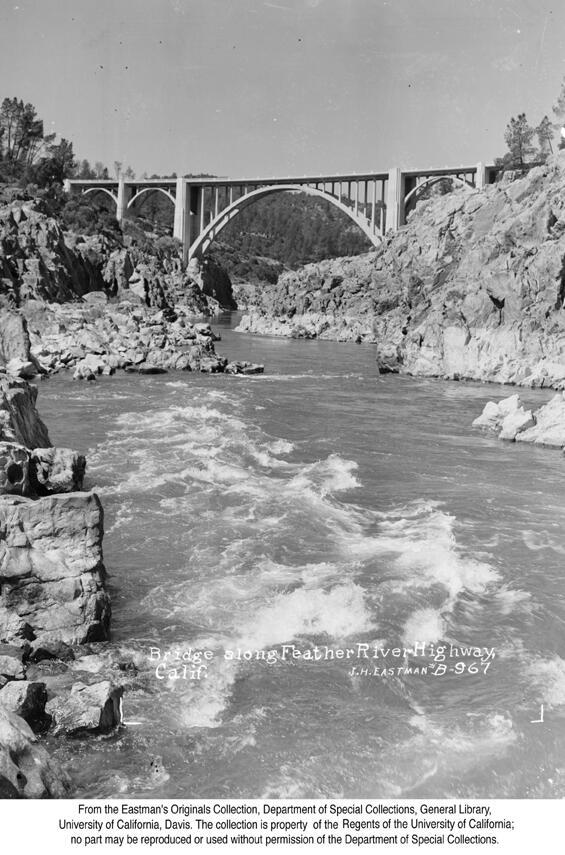 1947 Bridge Near Oroville, (Demolished in 1955).jpg