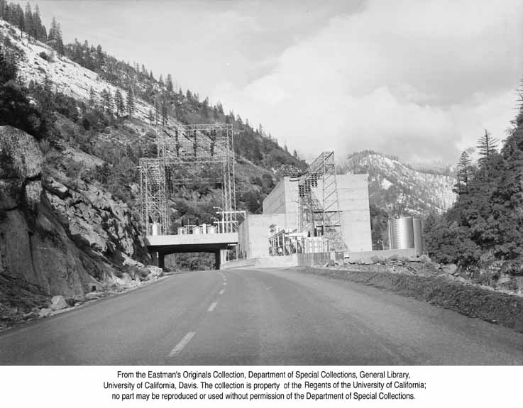 1952, Power House in the Feather River Canyon.jpg
