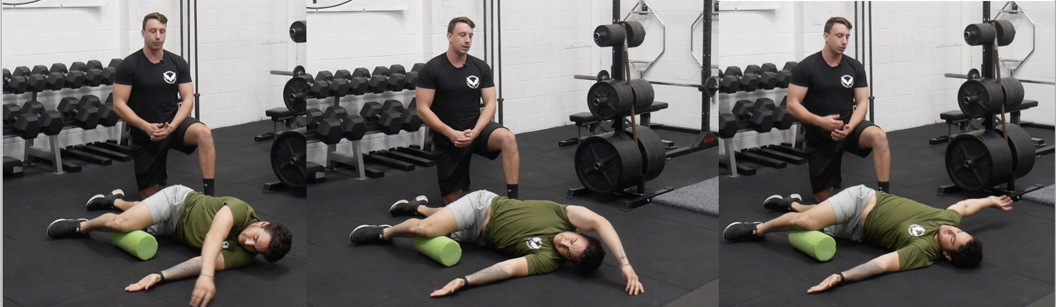 The Side Lying Windmill offers great benefits to thoracic extension and rotation alongside scapular upward rotation and shoulder flexion.