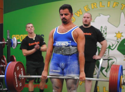 Coach Didier 268kg Deadlift, Junior Nationals, April 2019