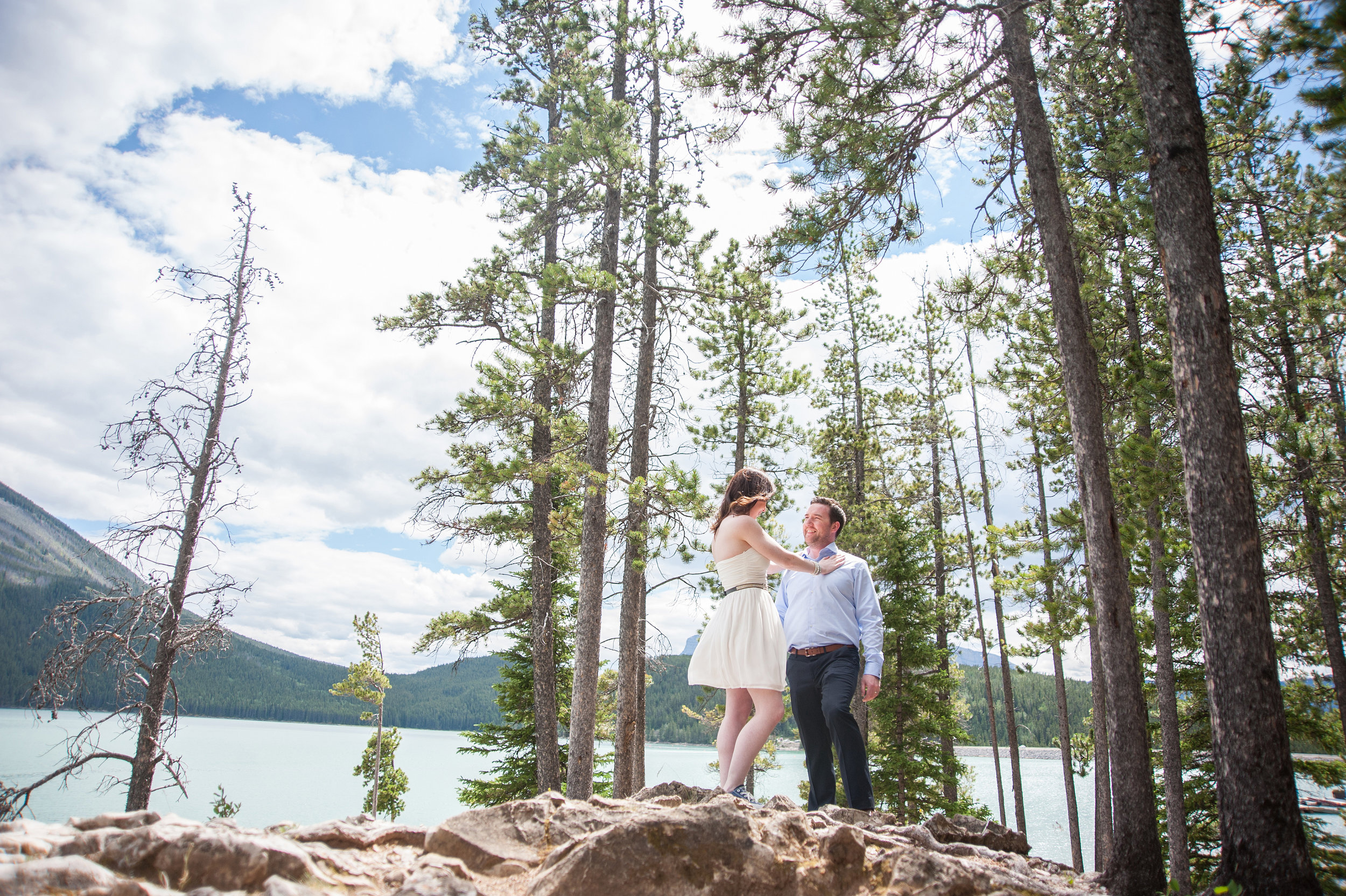 banff mountain elopement photography