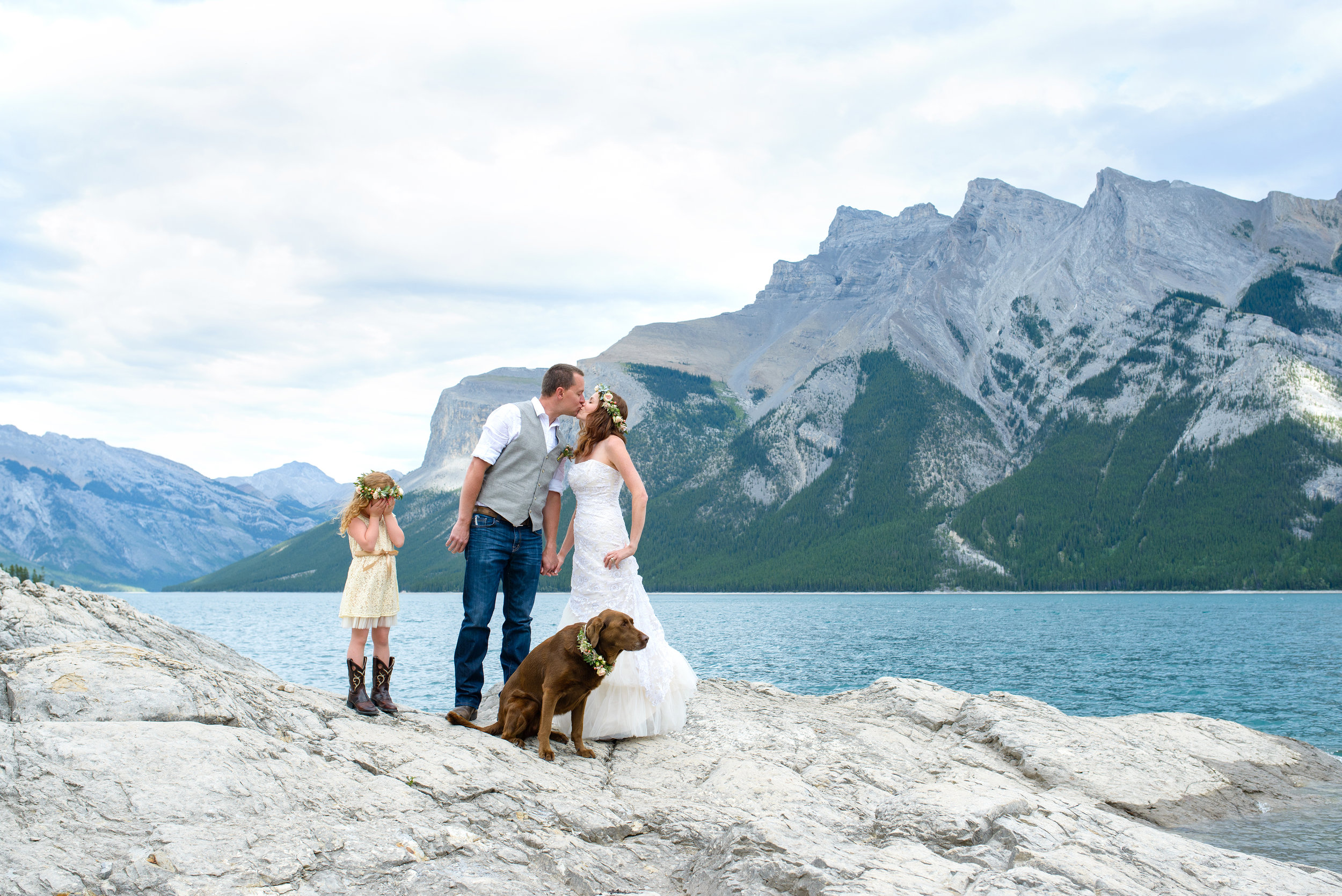 banff anniversary styled wedding photography