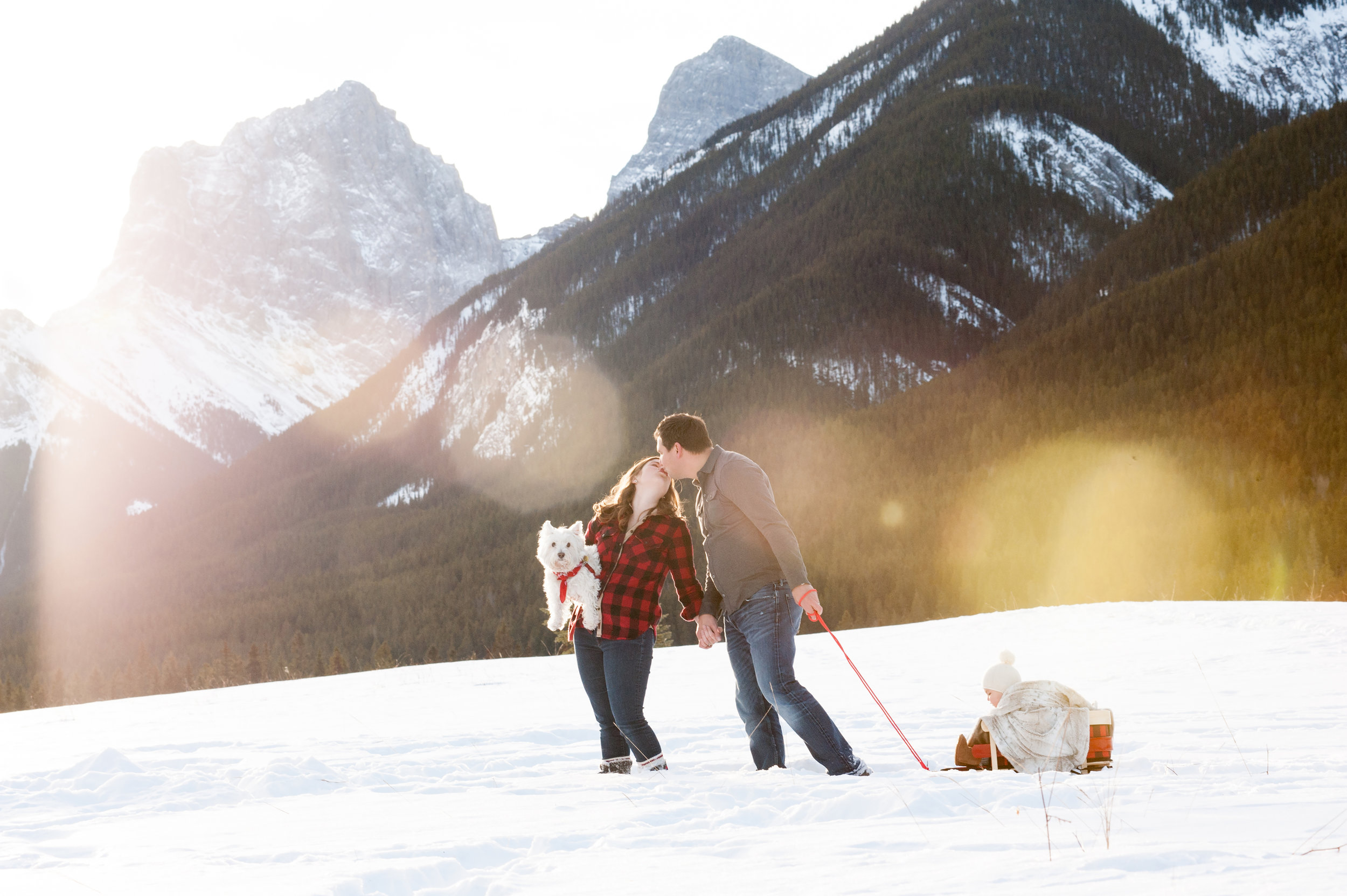 canmore family photography kids