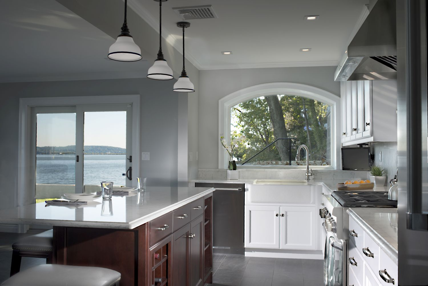 Transitional Kitchen & Baths - Piermont NY