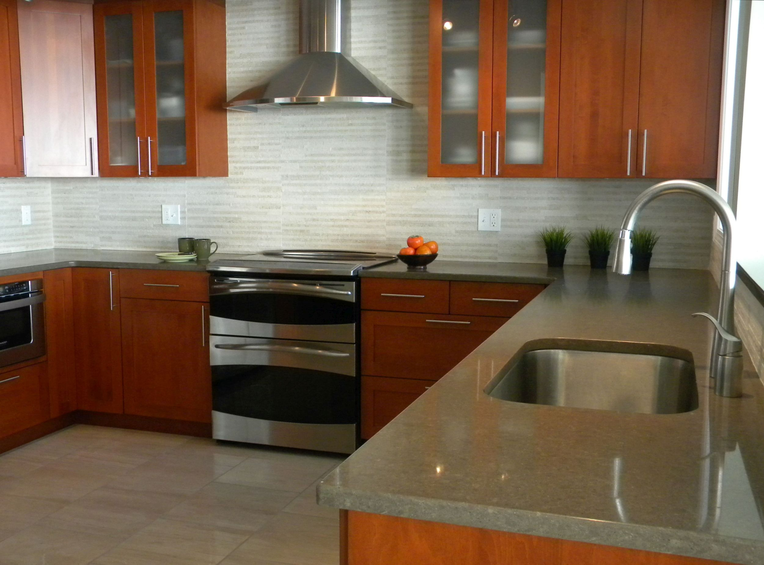 Contemporary kitchen remodel - Madison CT
