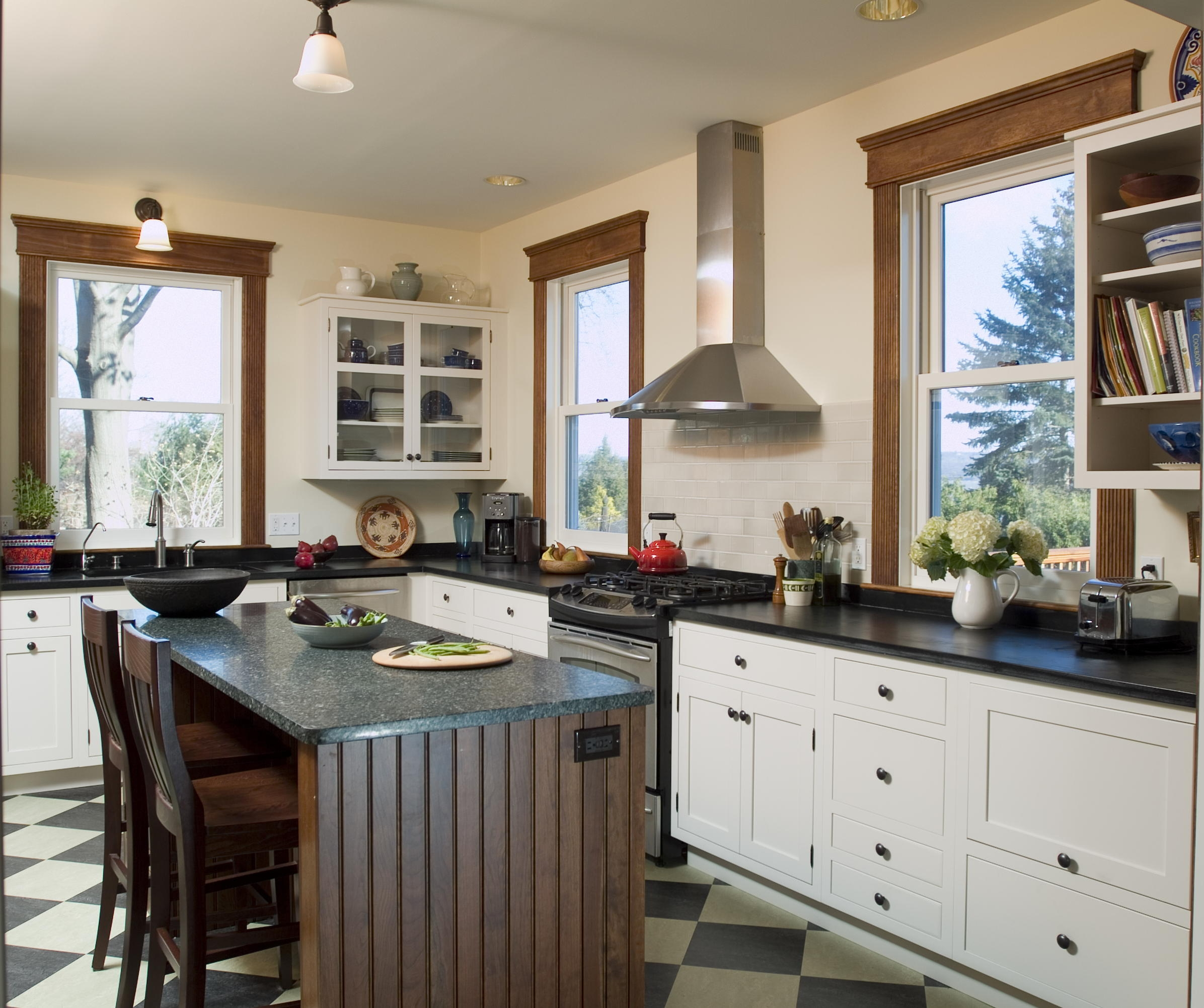 Farmhouse Kitchen - Nyack NY