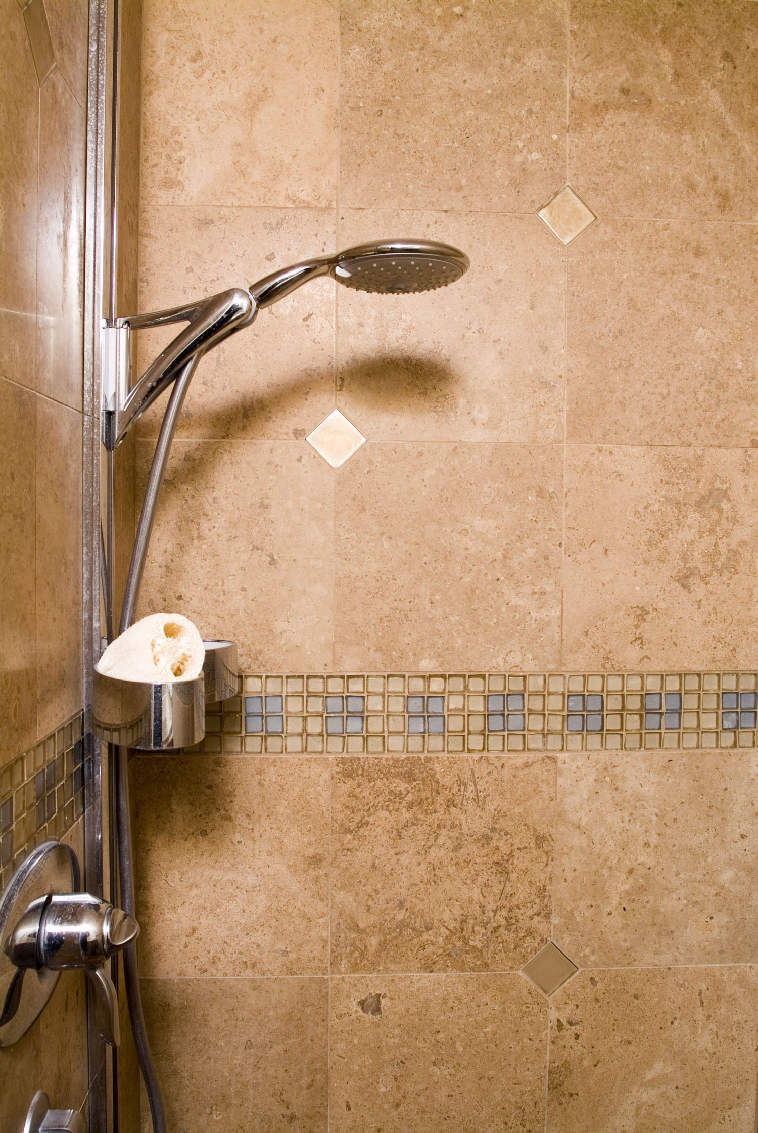A showerhead and handshower in one