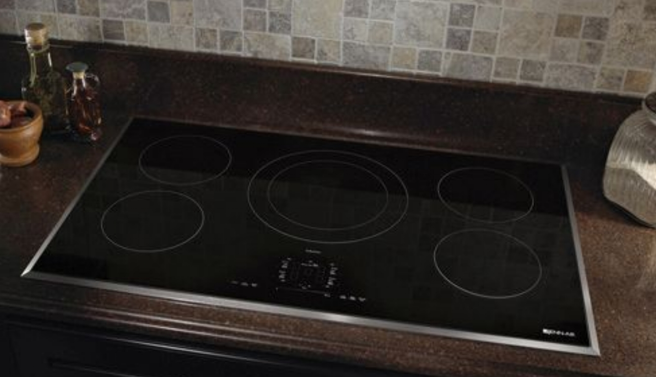 """36"""" Jennair induction cooktop-- an alternative to gas cooktops"""