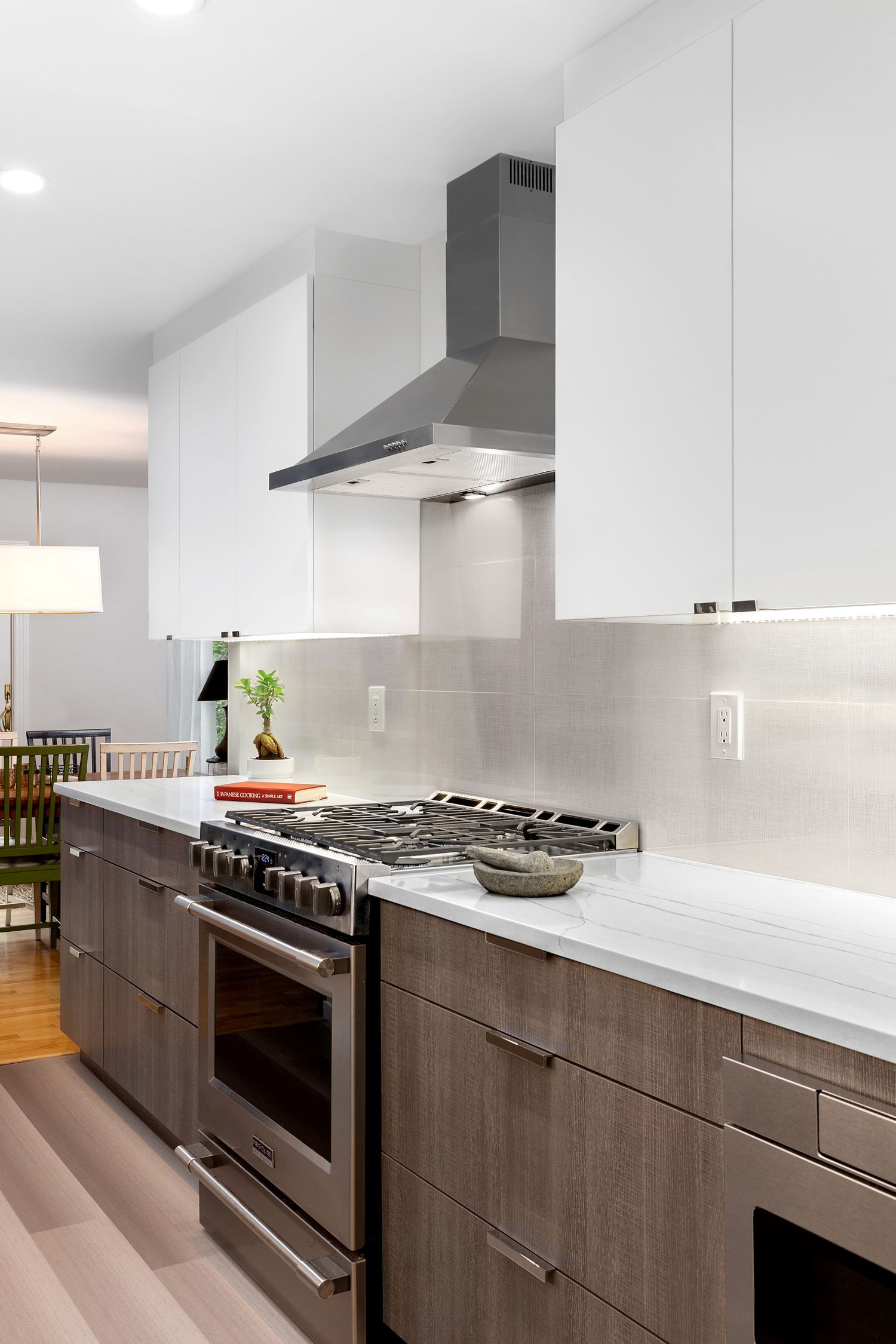Less is More Contemporary Kitchen - Nyack NY
