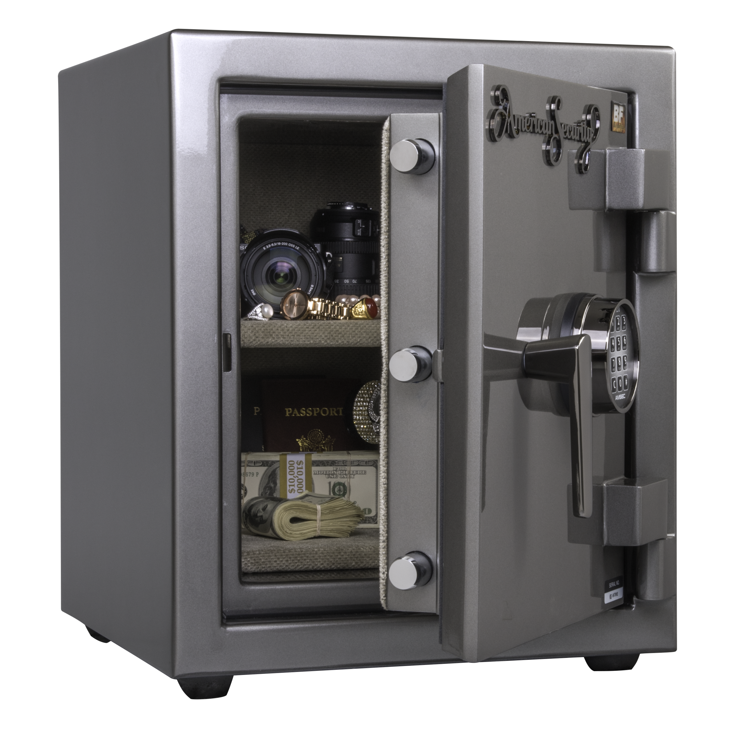 BURGLARY &FIRE SAFES -