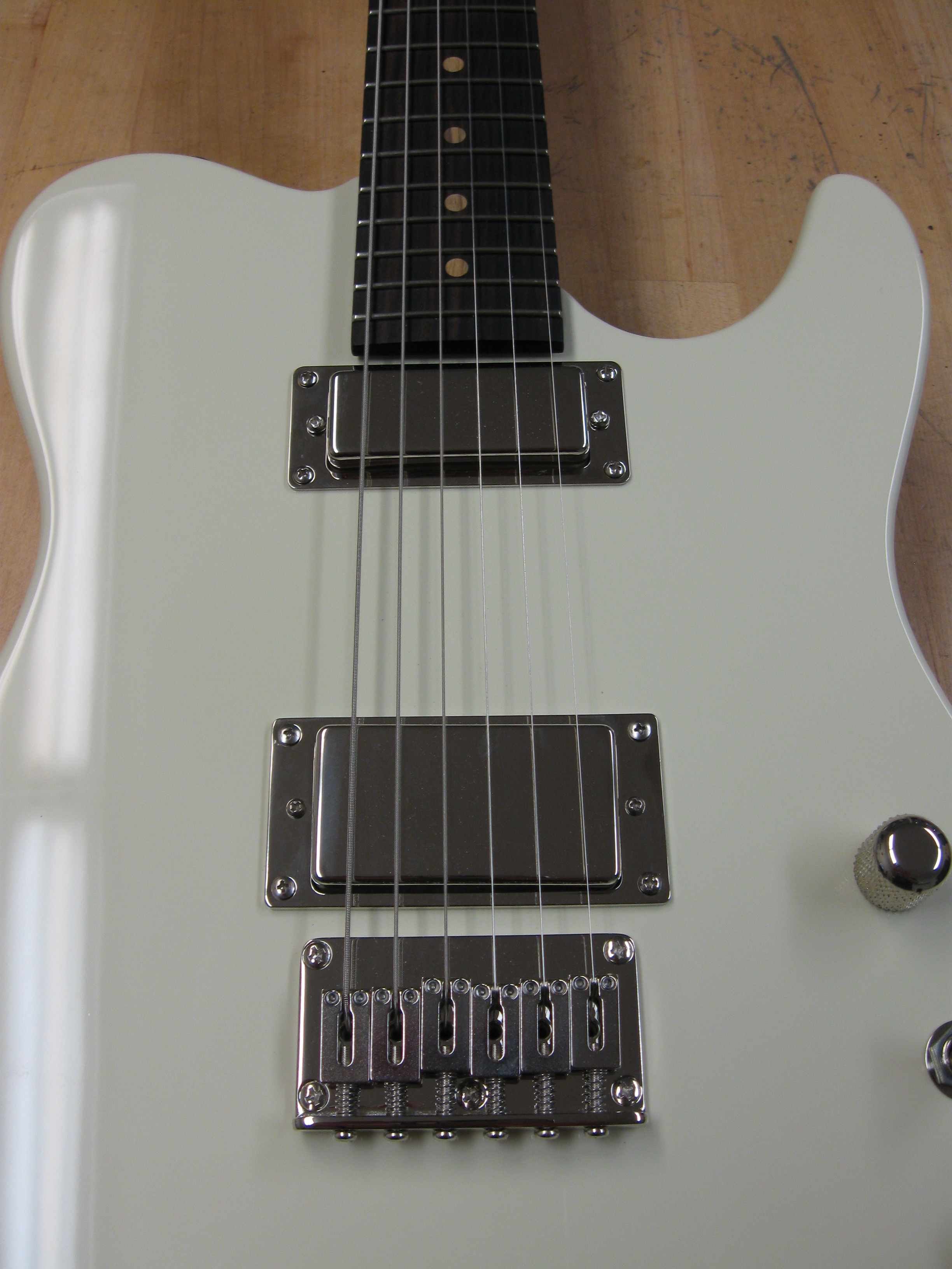 VTH-2 and 225 FB Mini-humbucker with nickel covers