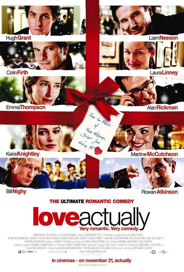 For your festive AF bae - Love Actually    Cute AF Factor: ðŸ�'ðŸ�' ðŸ�'ðŸ�'     XXX-mas Factor: ðŸ�'ðŸ�'    Hopeful for a Sequel Factor: ðŸ�'ðŸ�'ðŸ�'   Who doesn't love a good RomCom for the holidays? You and bae gonna get into some serious snuggles in your  ugly holiday sweaters .